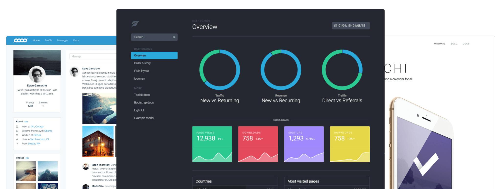 Bootstrap 4 - Nouveaux thèmes