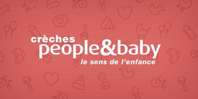 Crèches people&baby: Multi site web pour le réseau de crèches