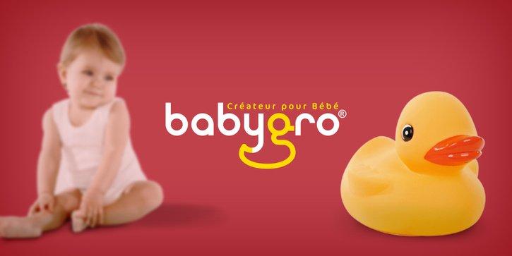 Babygro: Site web vitrine et TMA