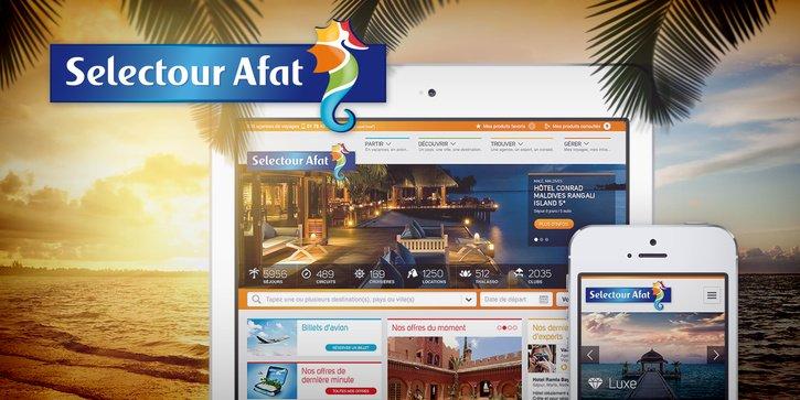 Selectour Afat: Charte graphique digitale